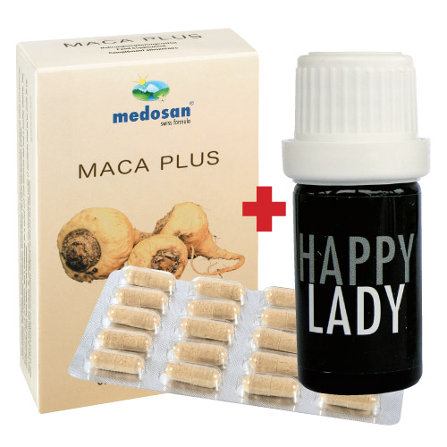 Maca Plus & Happy Lady