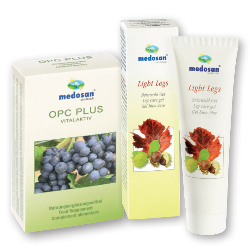 OPC plus VITALAKTIV kaps.+ Light Legs